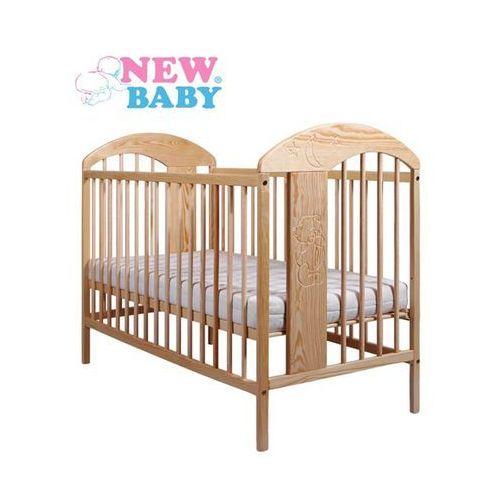 New baby Klasyczne łóżeczko dla dzieci  adam - naturalny