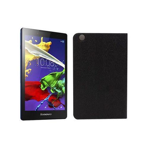 Lenovo Tab 3 A8-50 - etui na tablet Flex Book - czarny, ETLN486FLBKBLK000
