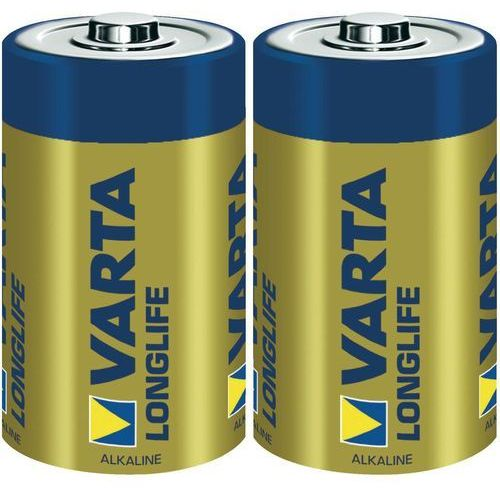 Varta Baterie alkaliczne r20 (typd)longlife 2szt. (4008496525348)
