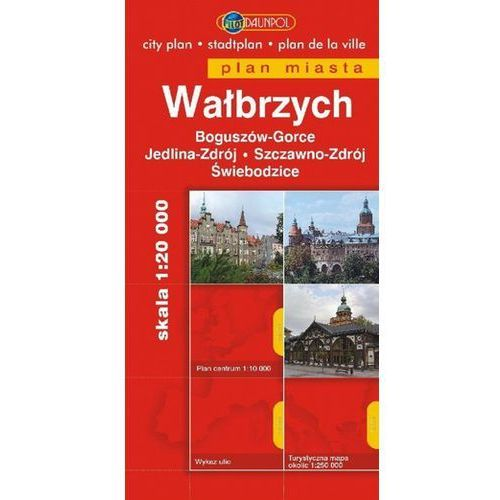 Wałbrzych. Plan miasta