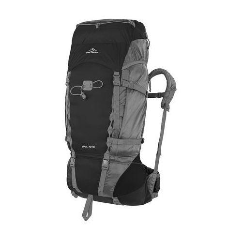 Fjord nansen  plecak turystyczny himil 70+10 black/graphite (5908221344239)