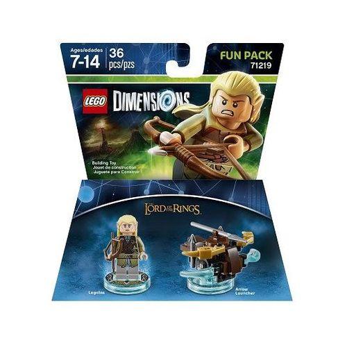 Lego dimensions-lord..rings fun pack 71219-legolas marki Avalanche studios