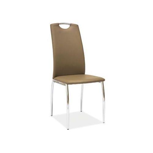 Nowoczesne krzesło H-622 ciemny beż, kolor beżowy