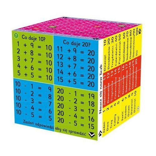 Bigjigs toys Cube book kostka edukacyjna dodawanie odejmowanie (9781904359180)
