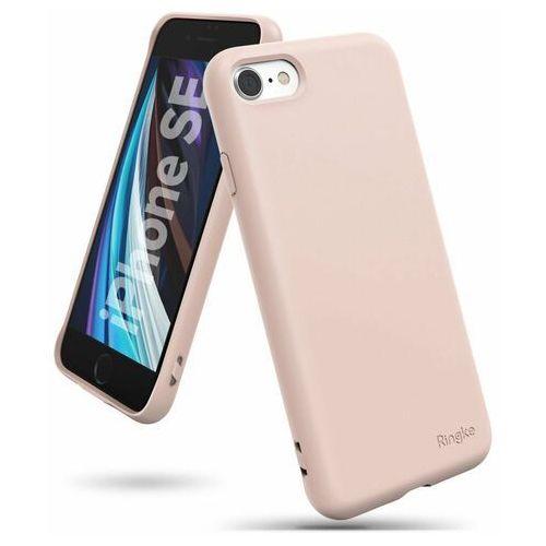 Ringke air s ultracienkie żelowe etui pokrowiec iphone se 2020 / iphone 8 / iphone 7 różowy (adap0022) - różowy