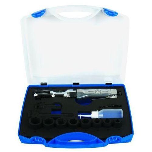 """Klucz pneumatyczny UNIOR Zapadkowych z nasadkami 1/2"""" w plastikowej skrzynce 1555 + DARMOWY TRANSPORT! (3838909155159)"""