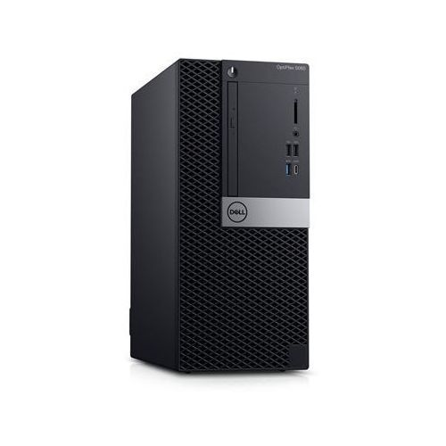 Dell optiplex 5060 desktop, tower, intel core i7, i7-8700, internal memory 8 gb, ddr4, ssd 256 gb, intel hd, 8x dvd+/-rw 9.5mm o