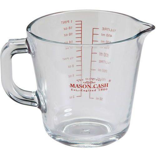 Dzbanek szklany z miarką kuchenną 0,5 litra classic (2006.186) marki Mason cash