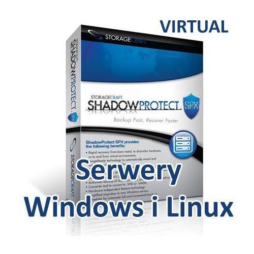 Storagecraft virtual shadowprotect spx server (windows i linux) pakiet 3 lic.