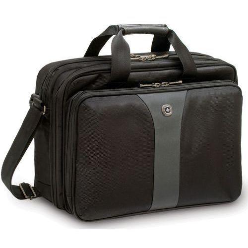 """Torba na laptopa Wenger Legacy Double Gusset 600648, 40,6 cm (16"""") , (DxSxW) 13 x 39 x 30 cm, czarny/szary, kolor czarny"""