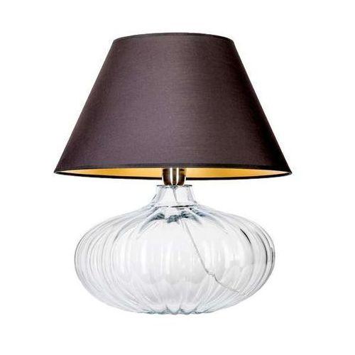 Lampa stołowa lampka brno 1x60w e27 czarny/złoty l006011214 marki 4concepts