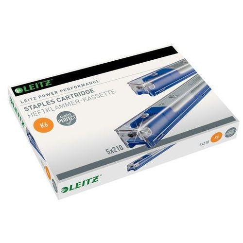 Kasetki ze zszywkami Leitz Power Performance K6 5x210szt.