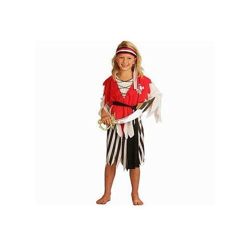 Kostium dziecięcy Piratka - L - 130/140 cm