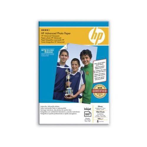 Papier fotograficzny advanced, błyszczący – 100 arkuszy/10 x 15 cm bez marginesów q8692a marki Hp