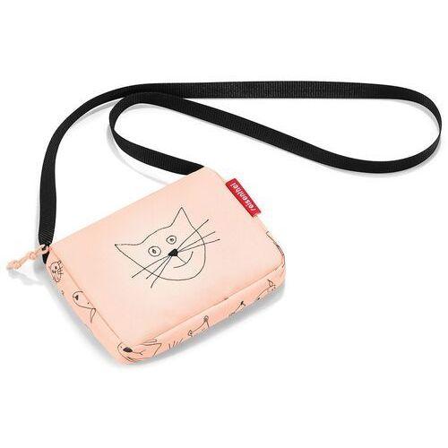 Mała torebka dla dziewczynek itbag kids cats and dogs rose (rja3064) marki Reisenthel