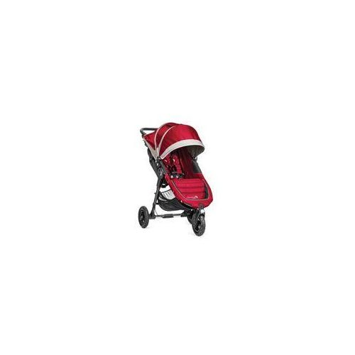 Wózek spacerowy City Mini Gt Single Baby Jogger + GRATIS (crimson/gray)