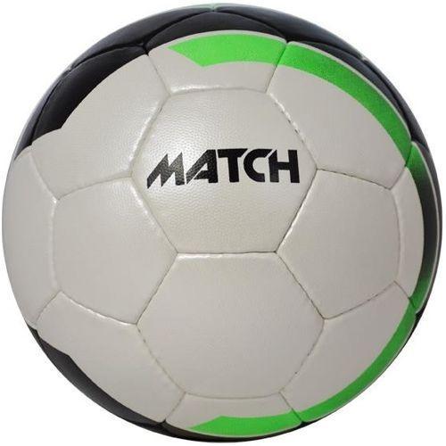 Piłka nożna AXER SPORT Match Biało-czarny (rozmiar 5)