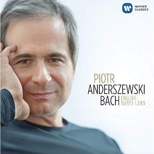 BACH: ENGLISH SUITES NOS. 1, 3, 5 - Piotr Anderszewski (Płyta CD)