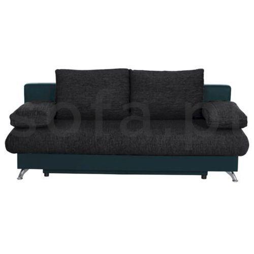 """Sofa """"VALERY"""" rozkładana - turkusowy, kolor niebieski"""