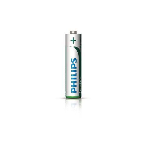Bateria cynkowo-węglowa  longlife r03 aaa (taca) marki Philips