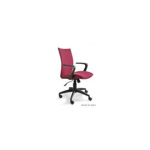 Unique meble Krzesło biurowe millo czerwone