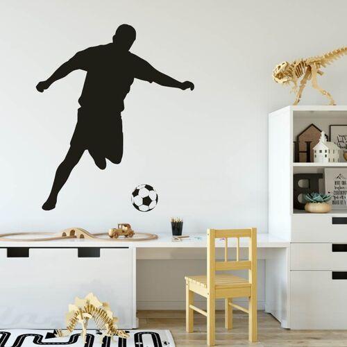 Wally - piękno dekoracji Szablon do malowania dla dzieci piłkarz 2486