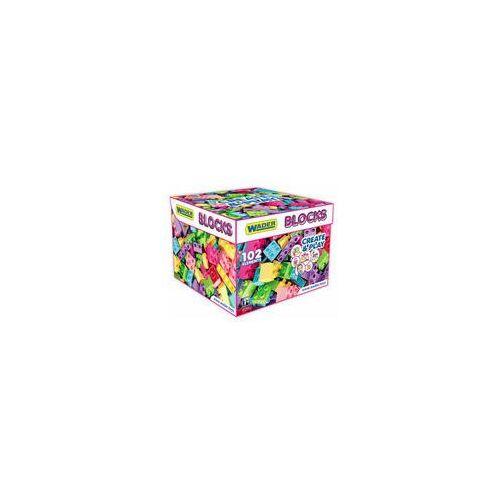Wader Klocki Blocks Create & Play Pink 41293