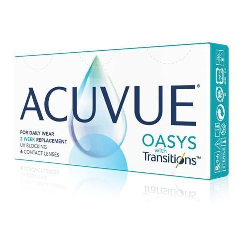 ACUVUE OASYS with Transitions 6 szt., 15
