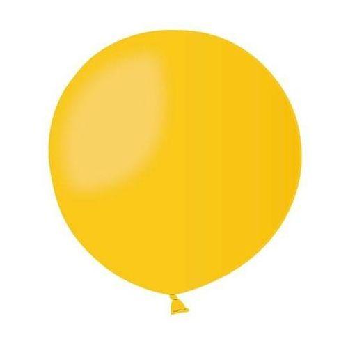 Gemar Balon olbrzym 85 cm średnicy - żółty pastel - 1 szt