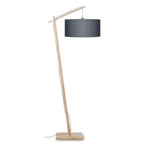 ANDES-Lampa podlogowa Bambus & Len Naturalny Wys.176cm (8716248078658)
