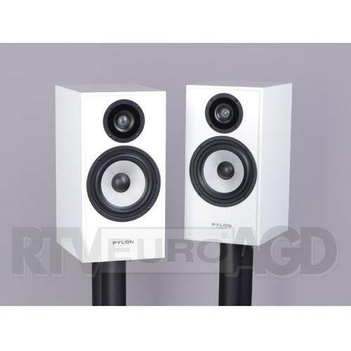 Pylon audio pearl monitor (biały połysk) (bez podstaw) 2 szt.