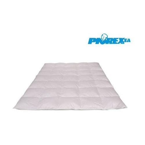 Kołdra puchowa zimowa linia ekskluzywna, rozmiar - 155x200, kolor - biały wyprzedaż, wysyłka gratis marki Piórex