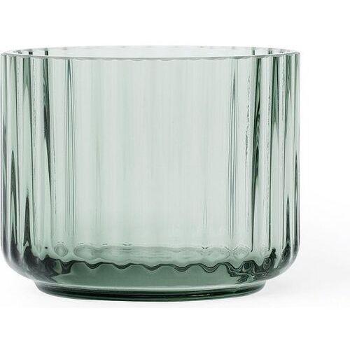 Lyngby Świecznik szklany copenhagen green