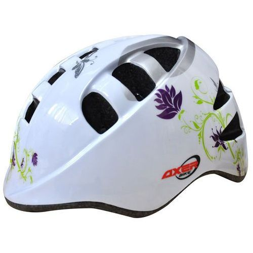 Kask rowerowy axer sport marcel white (rozmiar s) marki Axer bike