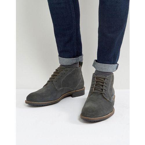 huntington suede boots in black - black, Levis