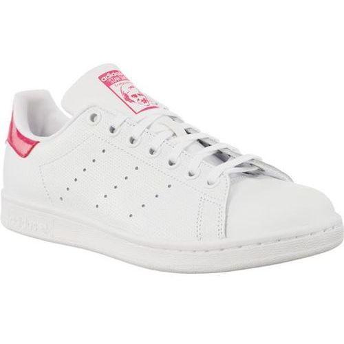 4ca8d8be5aa56 Adidas STAN SMITH J 207 - Buty Damskie Sneakersy - biały, kolor biały