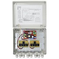 Bcs -a8/z/e zestaw zasilania dla 8 kamer analogowych obudowa zewnętrzna bcs