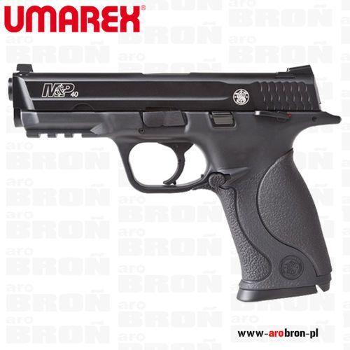 Umarex Wiatrówka pistolet smith & wesson m&p 40 ts blow back 4,46 mm bb - ruchomy metalowy zamek, nowość
