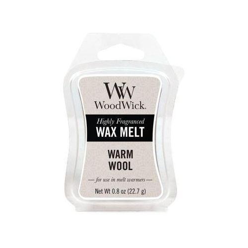 - wosk zapachowy warm wool 10h marki Woodwick