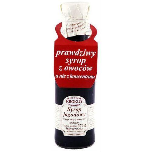 Syrop jagodowy sok jagody 375g - krokus marki 193krokus