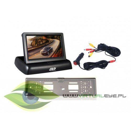 Virtualeye Zestaw kamera cofania + monitor + zasilacz