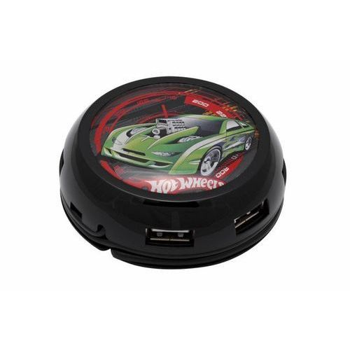 Hub MODECOM UFO Turbo Hot Wheels USB 7-portowy (5907760604392)