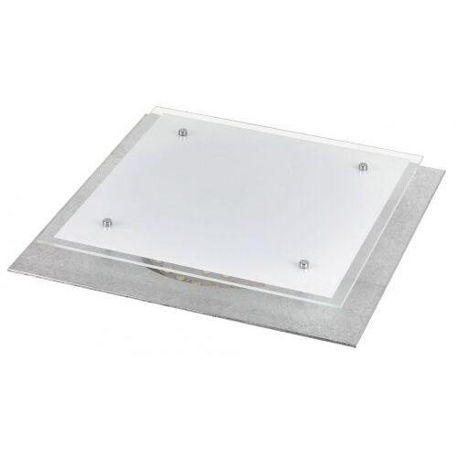 Plafon Rabalux June 3031 lampa sufitowa 1x24W LED biały / srebrny, 3031