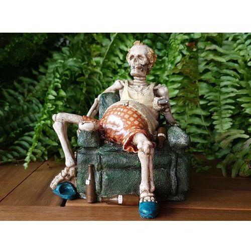 Veronese Szkielet na fotelu przed telewizorem (wu70363va)