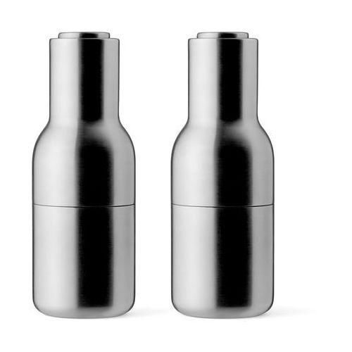 Młynek 2 szt Menu Bottle Grinder brushed steel