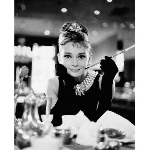 Audrey hepburn (breakfast at tiffanys) - plakat od producenta Brak