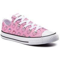 Converse Trampki - ctas ox prism pink 664638c prism pink/white/w
