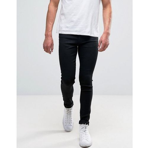 New Look Super Skinny Jeans In Black - Black, jeans
