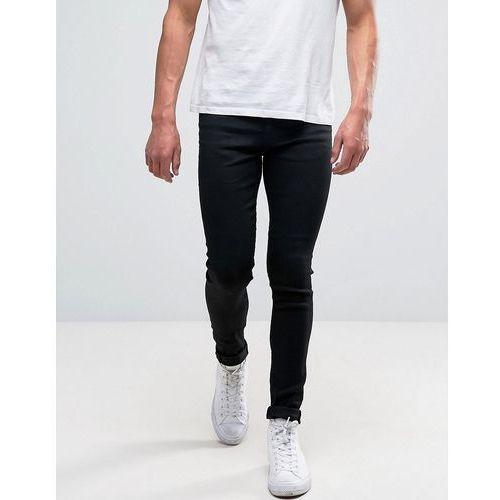 super skinny jeans in black - black, New look