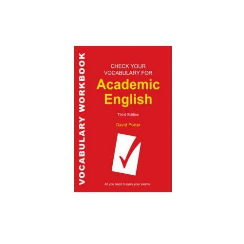 Check Your Vocabulary for Academic English (9780713682854)